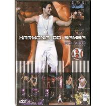 Dvd Harmonia Do Samba - Ao Vivo Em Salvador - Novo***