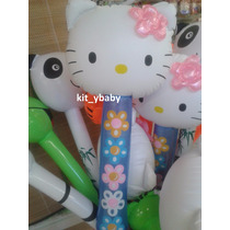 Hello Kitty, Inflable, P/centro De Mesa, Decoración, Alberca
