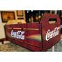 Caixote Engradado Madeira Mdf Coca Cola - G