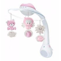 Móbile Smart Com Projetor De Imagem Musical Para Berço Bebê