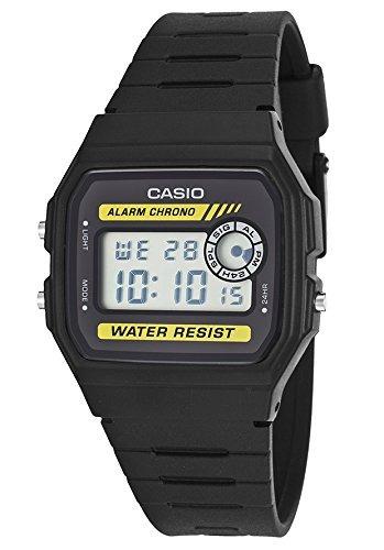 Reloj Pulsera Casio Hombre Digital Multifunción Goma Negra -   2.555 ... 93e71af6d918