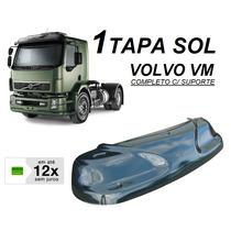Tapa Sol Caminhão Volvo Vm 17 23 260 310 C/ Suporte Fix