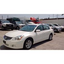 Nissan Altima Motor 2.5l 2012 Blanco 4 Puertas