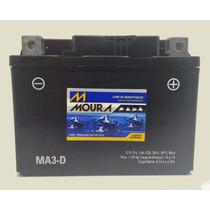 Bateria Moura Moto - 12v E 3ah - Bateria Da Honda Biz