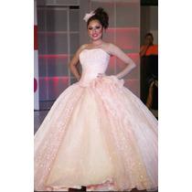 Vestido De Xv Diseñador Alejandro Ponce Incluye Zapatos