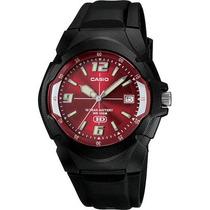 Reloj Casio Mw600 Analogo Water Resist 100m Fechador