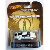 Lotus Espirit S1 Oo7 The Spy Who Love Me Hot Wheels Retro