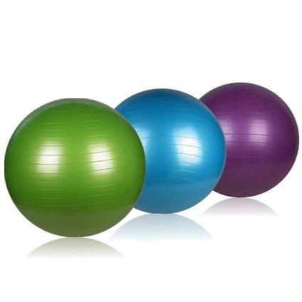Kit 3 Bola De Pilates Yoga Suiça Pilates Yoga 55cm - R  128 3969b292495d5
