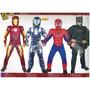 Disfraz De Iroman Spiderman Batman Transformer Musculosos