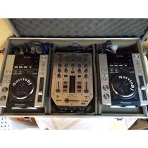 Cdj Pioneer 200 + Mix Vmx 200 + Case