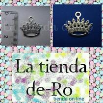Coronitas Dije/metal/scrapbook/princesas/1,8cm/ 5 Unidades