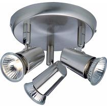 Luminária 3 Luzes Gu10 Para Quarto Sala Cozinha Banheiro