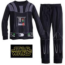Pijama Niños Darth Vader Star Wars Tipo Disfraz + Obsequio