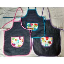 3 Delantales De Cocina Para Niños