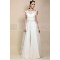 Vestido De Novia Color Ivory, Talla 48...