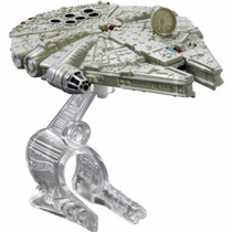 Hot Wheels Naves Star Wars, Set 4 Naves, Halcon Milenario,,,