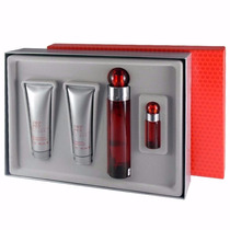 Set 4 Piezas 360º Red De Perry Ellis Eau De Toilette