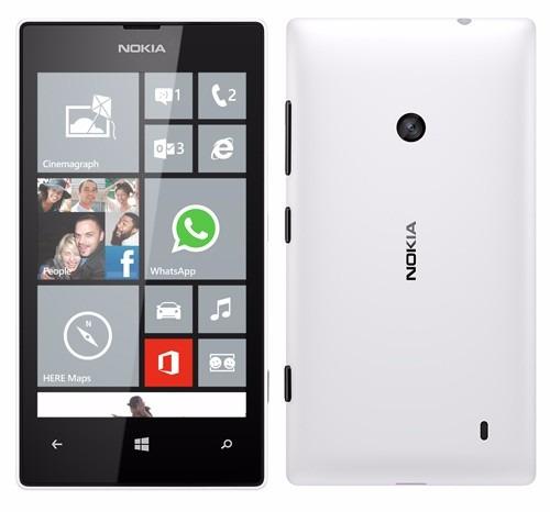 be6c7e8643079 Nokia Lumia 520 Branco Tela 4 Winphone 8 Cam 5mp 3g Wifi 8gb - R ...