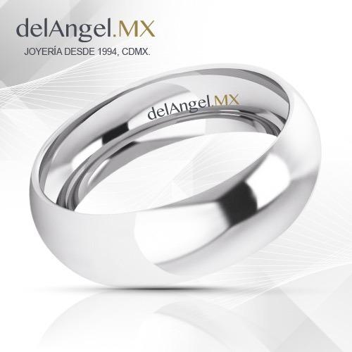 43cbcf00e1f4 Anillos Matrimonio Oro 10k 6mm 13033-106 -   1