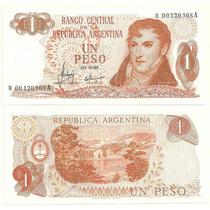 Billete 1 Peso Ley Reposicion Bottero 2304 Sin Circular
