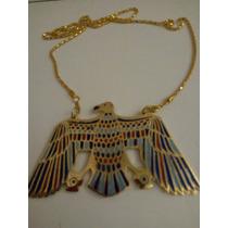 Pingente Egípcio Nekhbet Deusa Abutre Da Proteção No Egito
