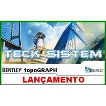 Topograph V8i - Bentley- Com Georreferenciamento Completo ##