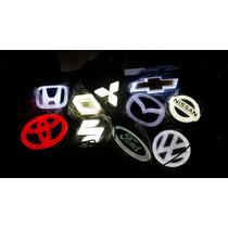 Emblemas Led 4d Vw Ford Chevrolet Honda Toyata Nissan Mazda