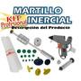 Kit Profesional Martillo Inercial Chupetas Lineal Alto Impac