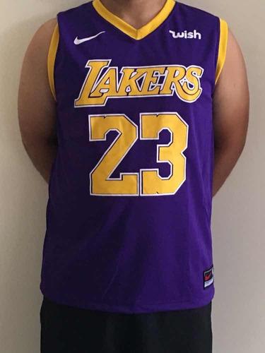 2a3e3699d Camisa Do Angeles Lakers Lebron James 23 Nba 2019 - R  42