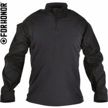 Combat Shirt Black Preto Gandola Militar Frete Grátis