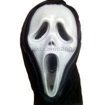 Mascara Scream , Cotillon, Plastico Con Tela.