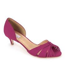 Peep Toe Salto Feminino Cesaretti - Pink