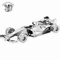 Metal Model 3d Rompecabezas Fórmula Car F-101