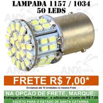 Lampada 1157 / 1034 2 Polos 50 Leds Lanterna Traseira