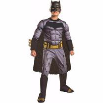 Disfraz Niño Batman Musculos Deluxe Batman V S