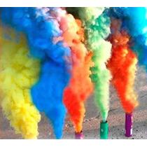 Lata De Humo Mediano Pote De Humo 10 Colores A Eleccion