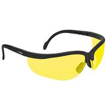 Lentes De Seguridad Vision Color Ambar Truper 14304
