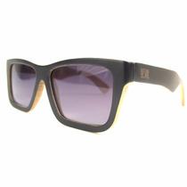 Óculos De Sol Yeva Thornwood Bamboo Dark