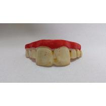 Dentes Dentadura De Resina Estragado Pegadinha Podre