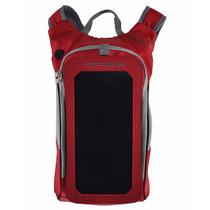 Mochila, Xikezan 6.5w Cargador Solar Para Teléfonos (rojo)
