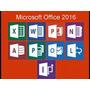 Microsoft Office 2016 Pro Plus - Licencia Original 1 Pc