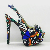 Zapatos Stilettos Sandalias Importados Sol Baigorria