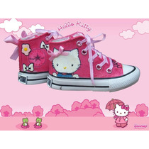 Botitas Pintadas/customizada Personalizadas Hello Kitty
