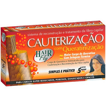Kit Cauterização Hair Fly Com Queratina
