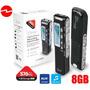 Grabadora Digital De Voz 8gb 576 Horas, Pc O Mac Portatil