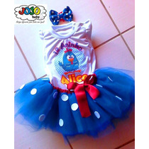 Jojo Baby - Body / Camisa + Tutu Galinha Pintadinha Person