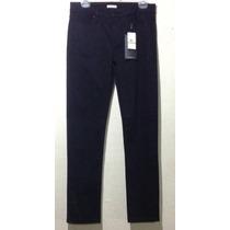 Calvin Klein Ck Jeans Pantalón Casual Negro Skinny Mujer