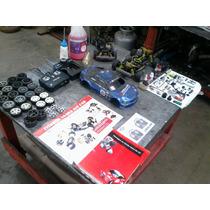 Carrinho De Controle Remoto A Combustão Kit Com 2 Automodelo