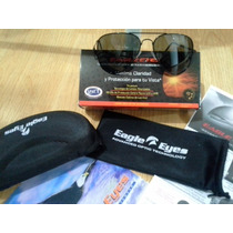 Eagle Eyes Aviator Black ( Certificado De Autenticidad)