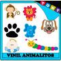 Vinil Infantil Animales Autoadhesivo